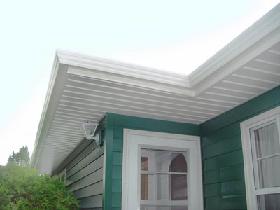 new fascia and soffit
