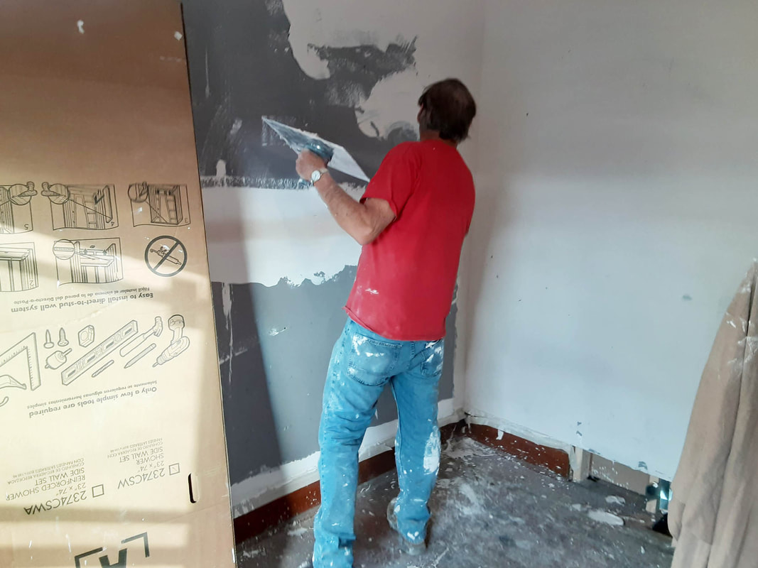 clair boring painting services skim coat plaster walls